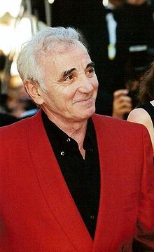 Aznavour in Cannes