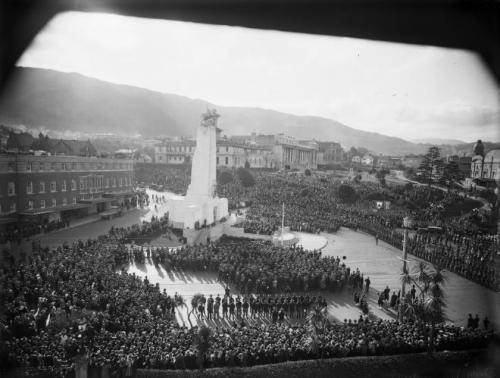 Dedication ceremony 1931