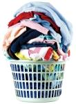 Laundry in basket