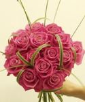 pink-rose-posy-bouquet