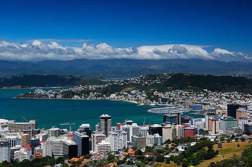 Wellington harbour – magnificent site