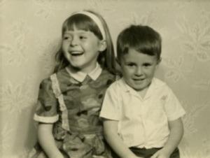 Cate and David c 1964