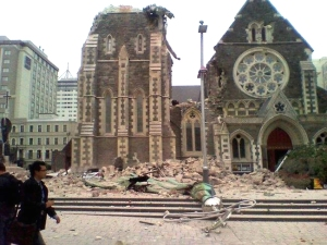 Christchurch Cathedral after 22.02.11