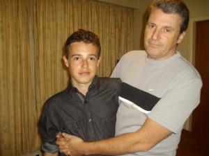 James and David