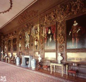 Carved room