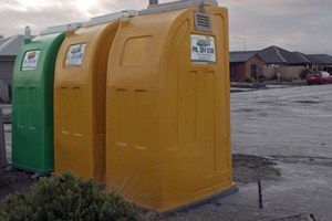 Portaloos in Christchurch - NZPA