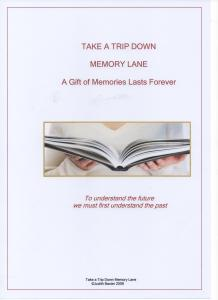 Cover of Book on Memories