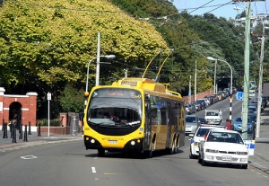 Wellington city bus