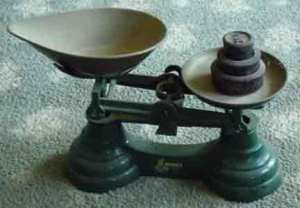 scales for potatoes