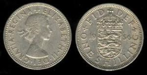 Shilling coin