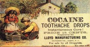 Toothache drops