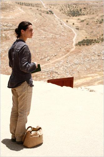 Jeanne in the desert