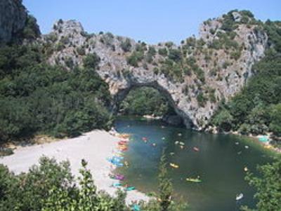 Pont d'arc Arch