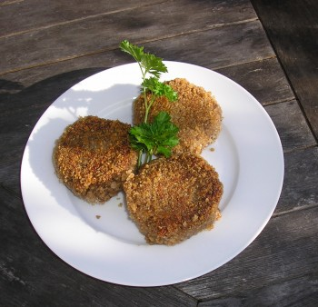 Nut cutlets