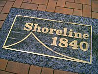 Shoreline plaque