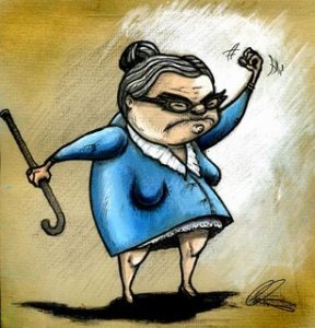 Cross Old Woman