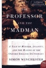 Book cover - Professor and madman