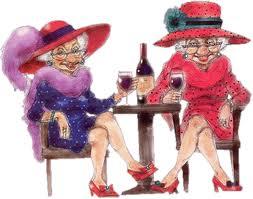 2 old ladies