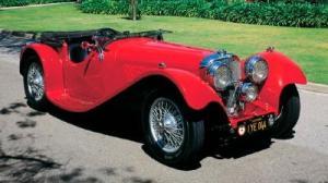 Jaguar sportscar