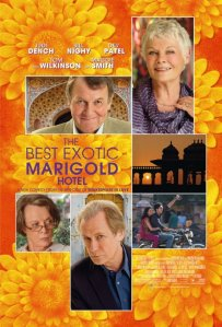 Best Exotic Marigold Hotel Poster