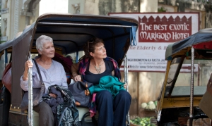 Arriving at the Marigold Hotel