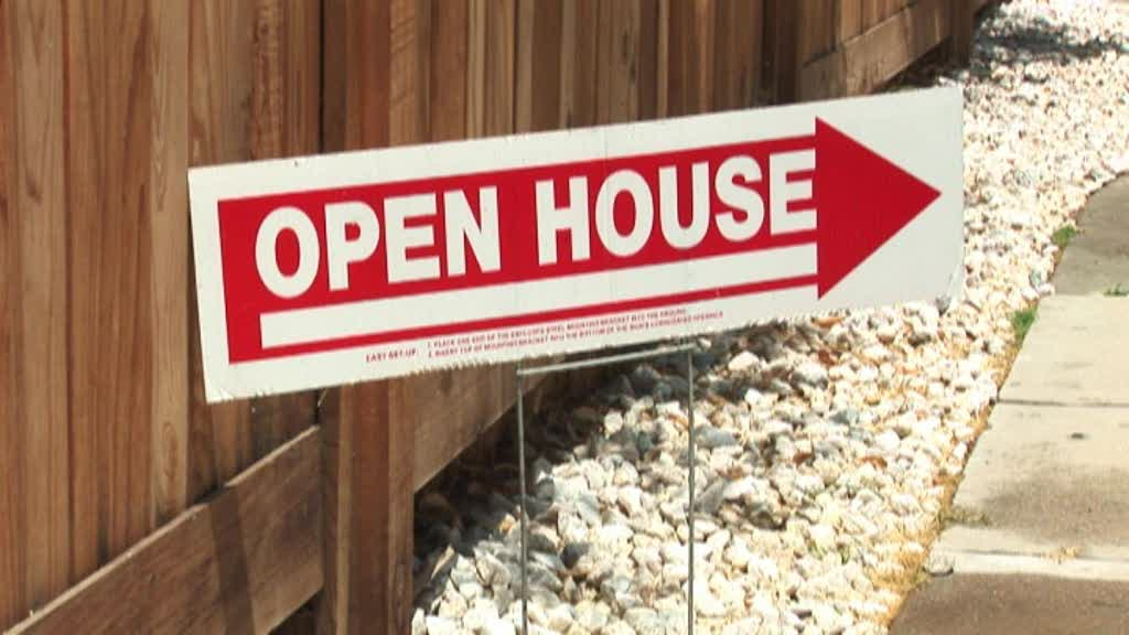 Marvelous Open House Sign
