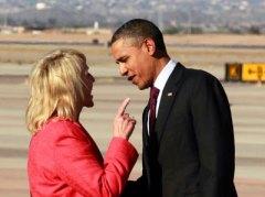 Pres Obama and Gov Brewer