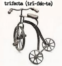 Trifecta tricycle