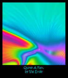 Painting - Quite a fan