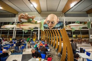 Hobbit at Wellington Airport