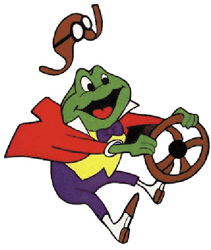 Toad driving
