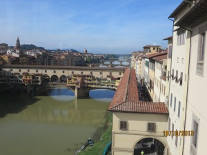 Another view of Ponte Veccchio from Uffizi