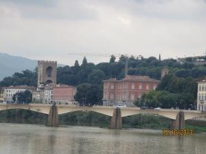 River Arno from Ponte Vecchio