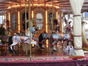 Carousel in square