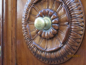More door decoration