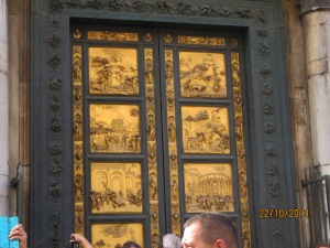 Doors to Baptistry