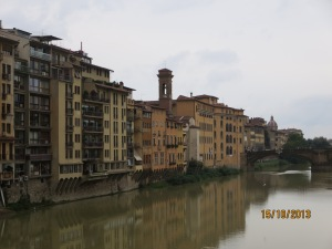 Houses on the Arno