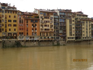 Houses on the River Arno