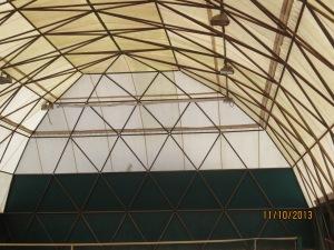 Roof o dome
