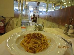 Spag bol Italian style!