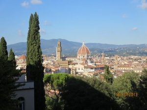 View from the terrace Villa Bardini
