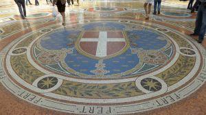 Galleria Mosaic floor Milan