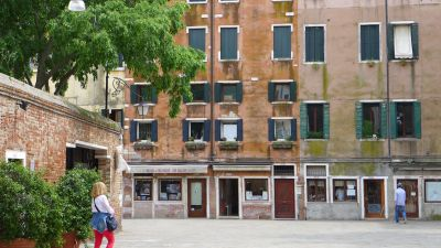 Shops and apartments Jewish Ghetto Venice